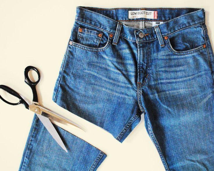 geef spijkerbroek een nieuw leven